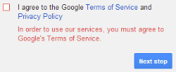 Gmail Policy