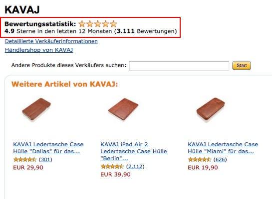 Amazon-SEO: Ex-Mitarbeiter verkaufen heute Handytaschen