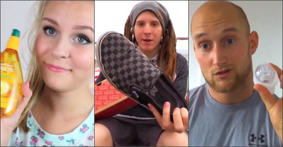 Von links: Dagi Bee, Unge und Karl Ess (Quellen: youtube.com/dagibee, youtube.com/unge, youtube.com/karless, Montage: Online Marketing Rockstars)