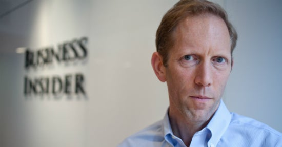 Business Insider-Gründer Henry Blodget (Foto: Tim Knox, Business Insider)
