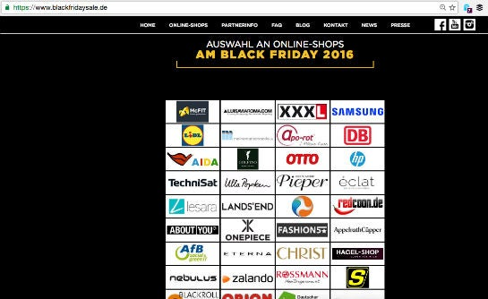Black Friday Abmahnung