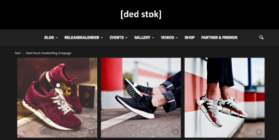 Dead Stock Instapage