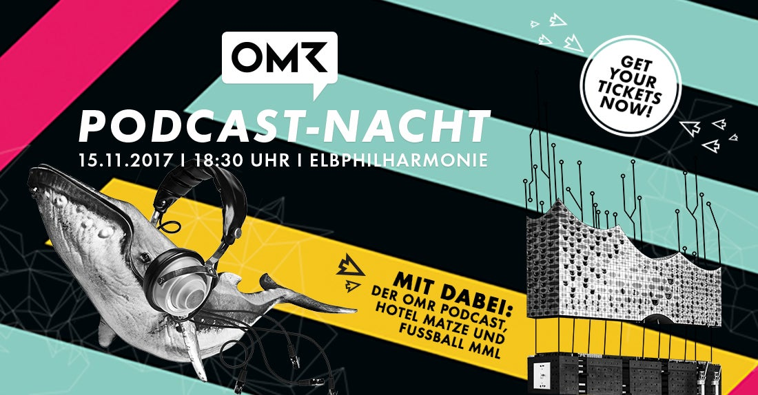 OMR Podcast-Nacht Elbphilharmonie