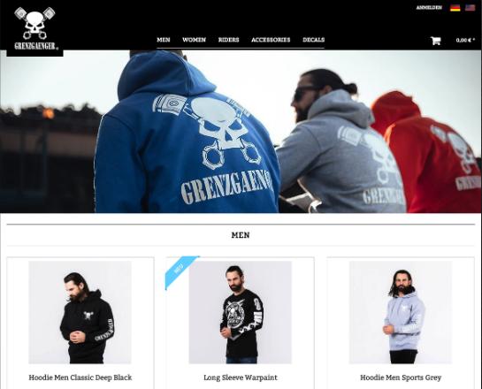 Grenzgaenger-Shop online