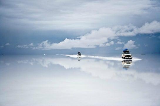 Bolivianische Salzwüste Uyuni