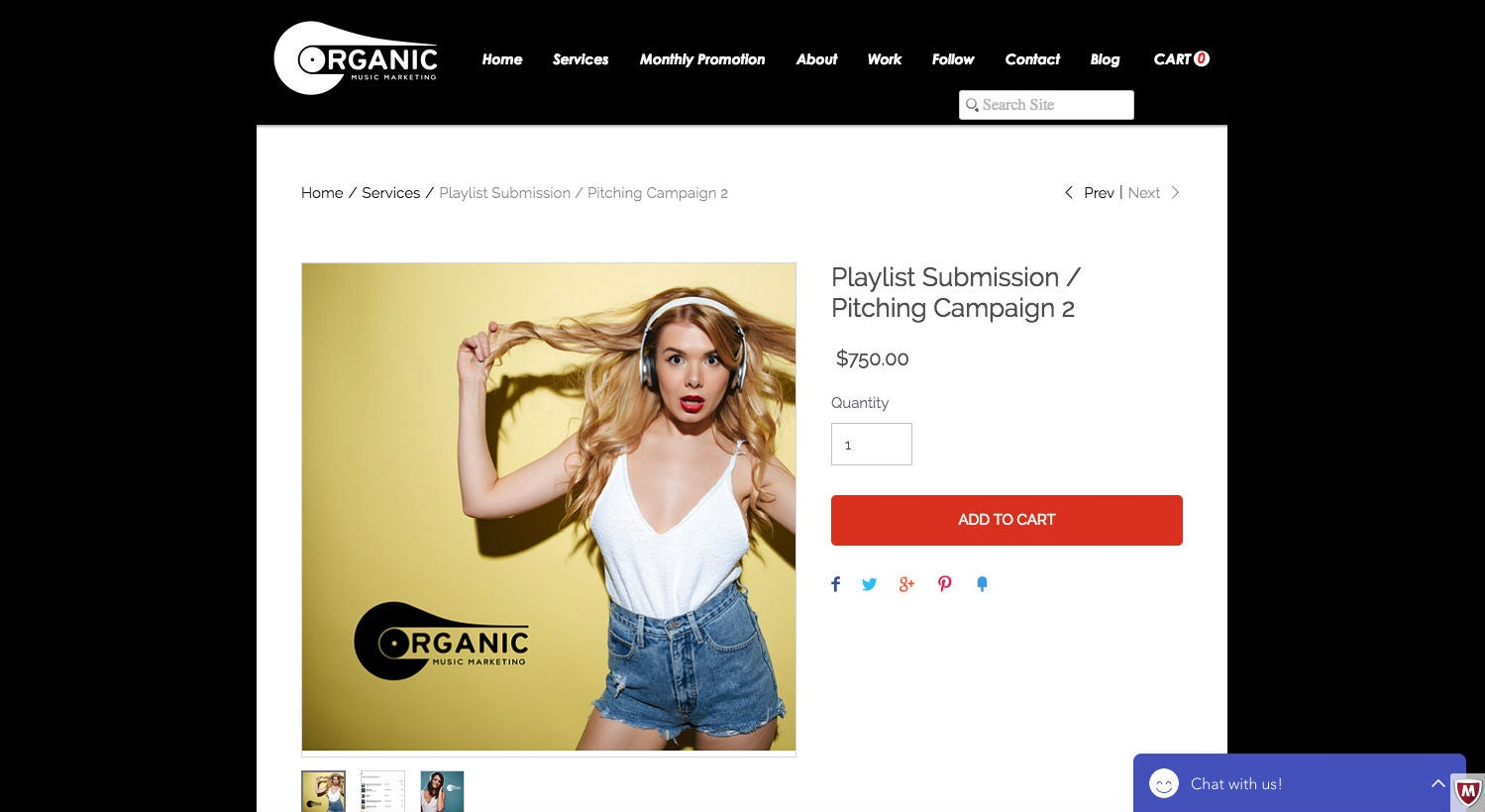 Organic Music Marketing Spotify Kampagne