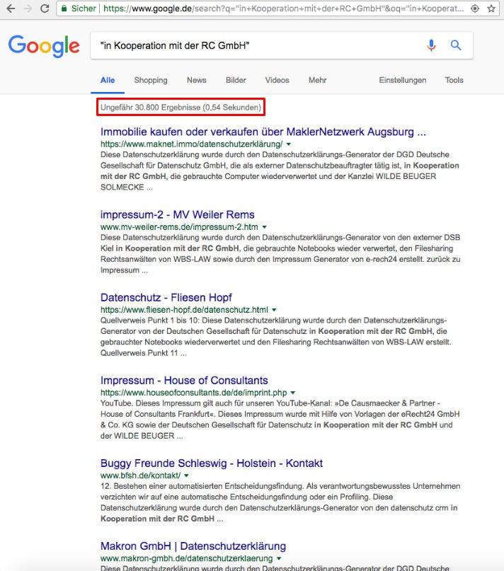 Fragwürdiges SEO: DSGVO-Tool generiert Tausende von Backlinks | OMR ...