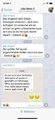 Julia Sinas Telegram 2