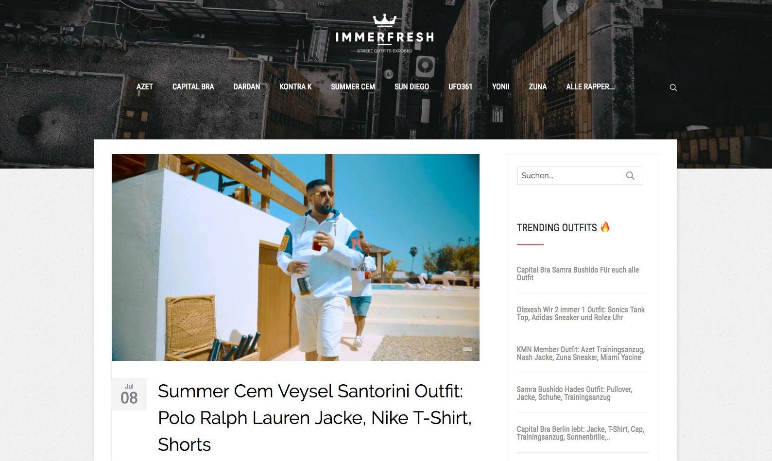 immerfresh Startseite Hip Hop Rap Affiliate Youtube OMR