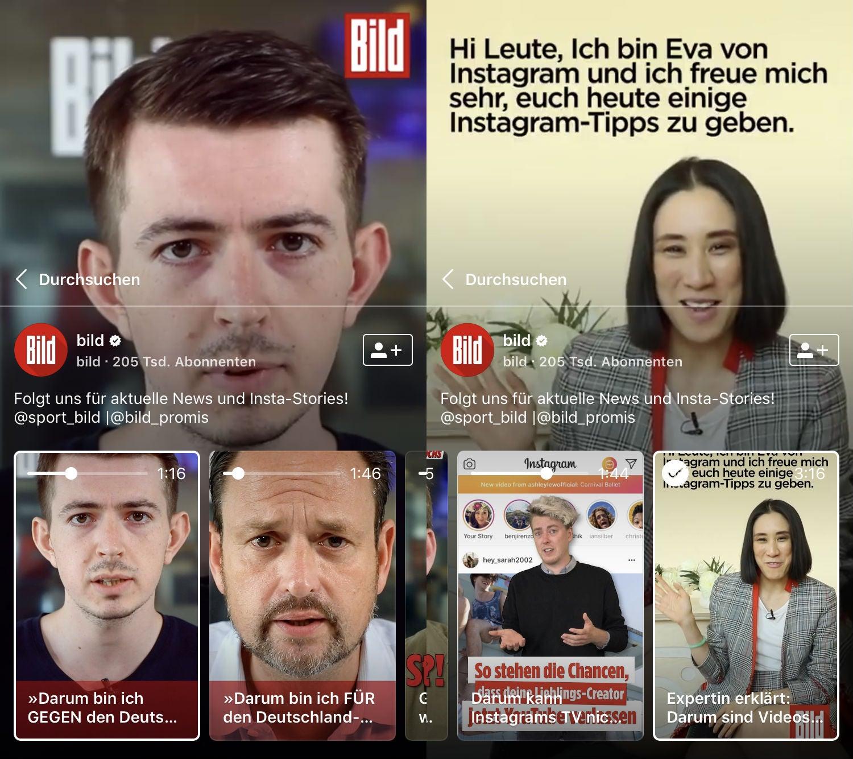 Bild Instagram TV IGTV OMR