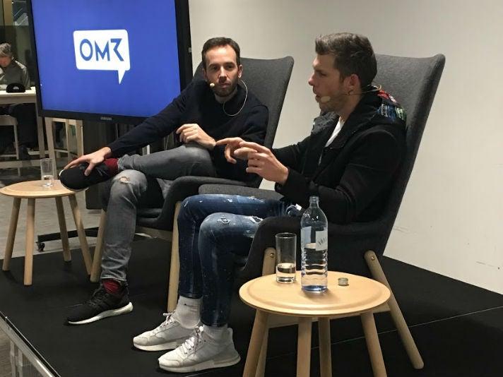 Philipp Westermeyer (l.) und Florian Gschwandtner