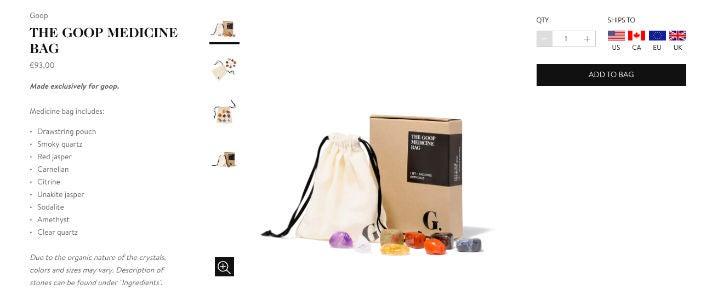 Goop Online-Shop