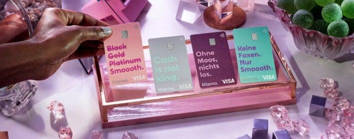 Klarna Cards Visa Komm mal Klarna OMR