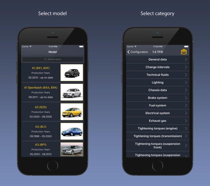 TechApp.org Auto Apps Screenshots