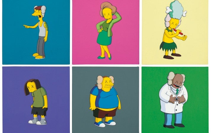 KAWS Kimpsons