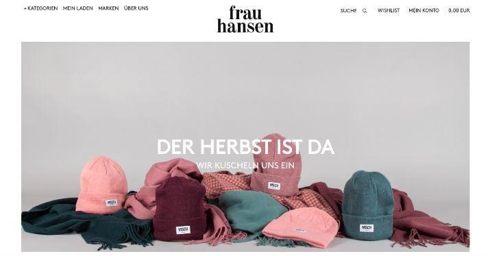 Online-Shop Frau Hansen