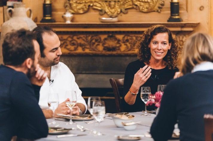 Dinner Berlin 2 OMR Axel Springer Miriam Wohlfarth