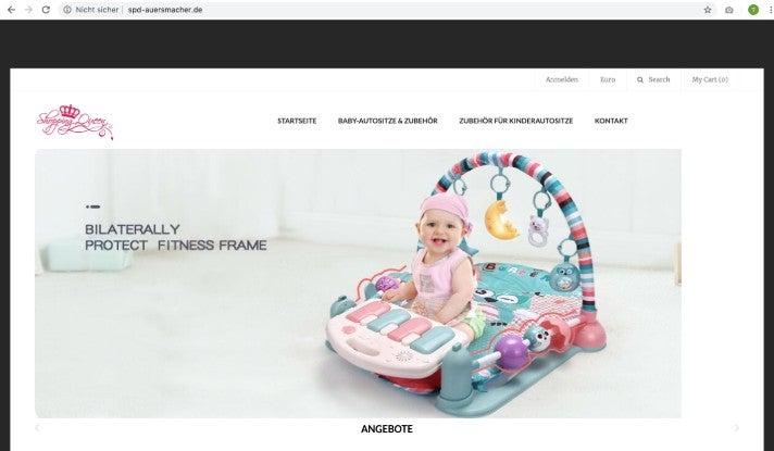 Expired Domains Fake Shops Fraud SPD Auersmacher