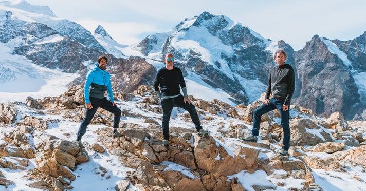 Caspar Coppetti, David Allemann und Olivier Bernhard