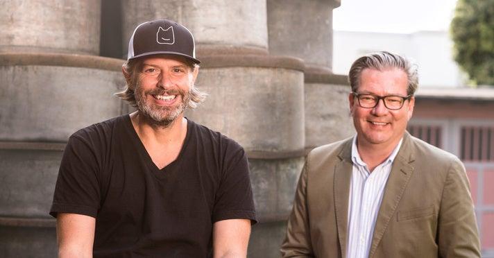 Patric Faßbender und Marcus Stahl, Gründer von Boxine