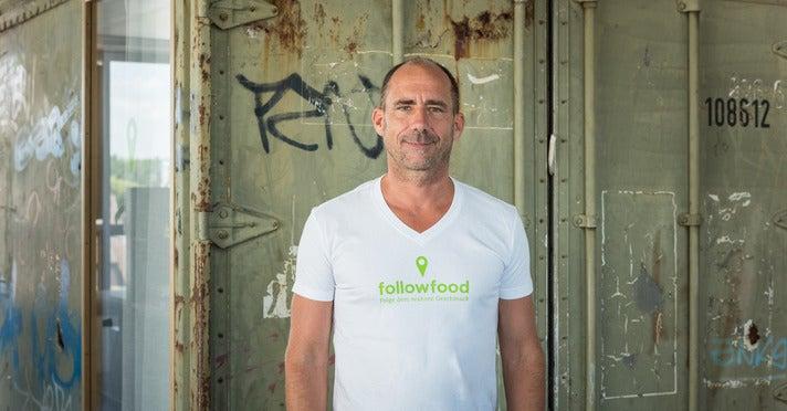 Jürg Knoll, Gründer und CEO Followfood