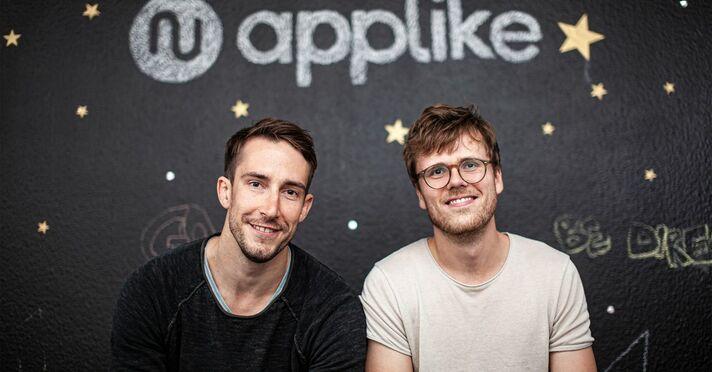 Applike-Gründer Carlo Szelinsky und Jonas Thiemann