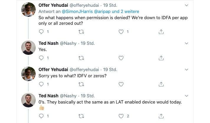 Apple Privatsphäre Ted Nash Twitter
