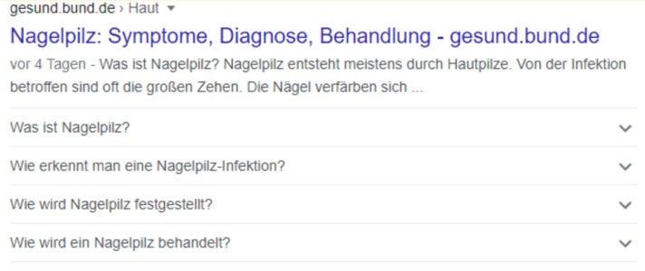 Markups gesund.bund.de
