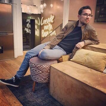 Adil Sbai, CEO von WeCreate