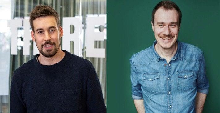 Philip Papendieck, CEO von Intermate, und Philipp Wolff, Co-Founder von Truemates