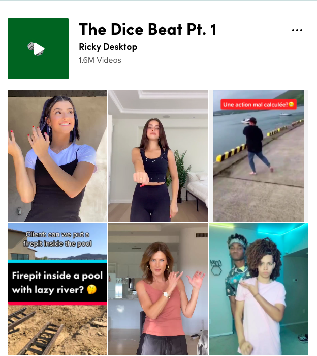 Ricky Desktop Tiktok The Dice Beat