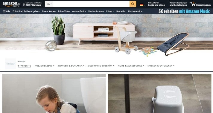 Der Kindsgut-Store auf Amazon