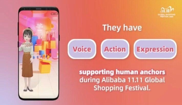 Virtuelle Moderatoren aus Alibabas F&E-Abteilung Damo Academy
