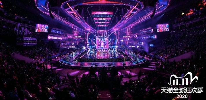 Hochamt für den E-Commerce: Alibabas Tochter Tmall richtet zum Singles' Day eine eigene Gala aus