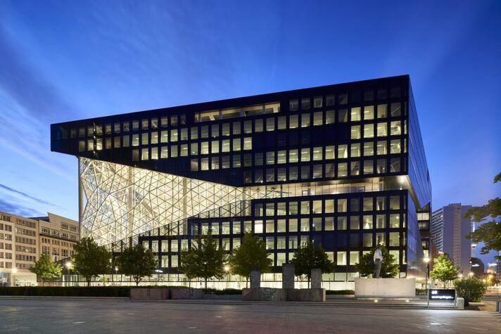 Der Axel-Springer-Neubau in Berlin. Foto: Axel Springer SE