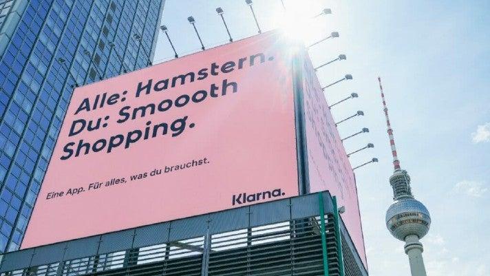 Klarna Werbekampagne