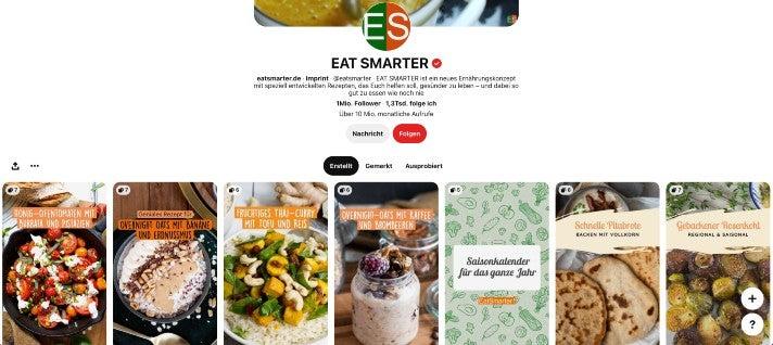 Eatsmarter auf Pinterest