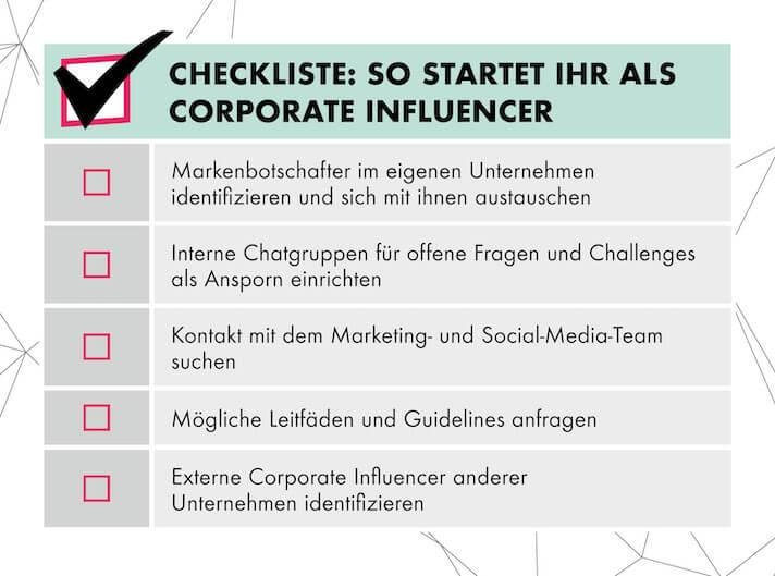 Als Corporate Influencer sollte man sich im LinkedIn Marketing mit Gleichgesinnten vernetzen.