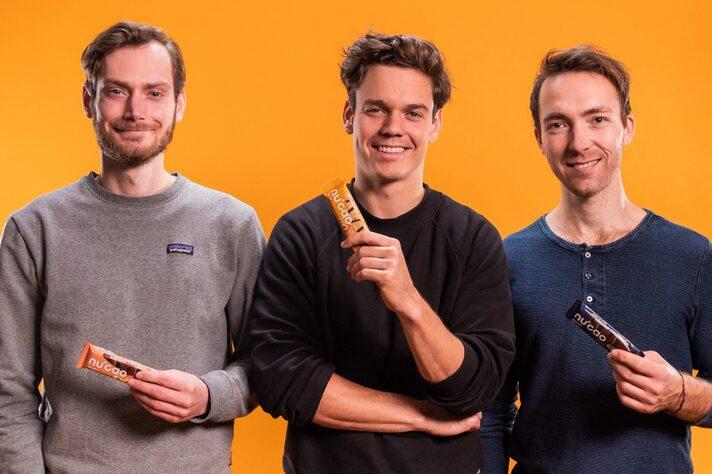 Die drei Gründer von The Nu Company: Thomas Stoffels, Christian Fenner und Mathias Tholey (v.l.). Quelle: PR