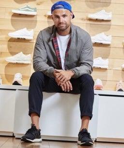 Daniel Benz, CEO des Darmstädter Sneaker-Shops Asphaltgold