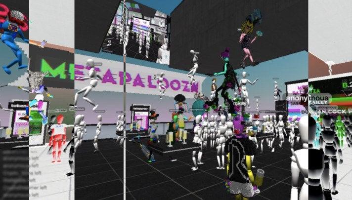 Avatare und Pixel statt Art-Crowd und Prosecco: So sah das virtuelle Kunst-Festival Metapalooza aus