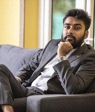 Der Krypto-Investor und NFT-Sammler Vignesh Sundaresan alias Metakovan