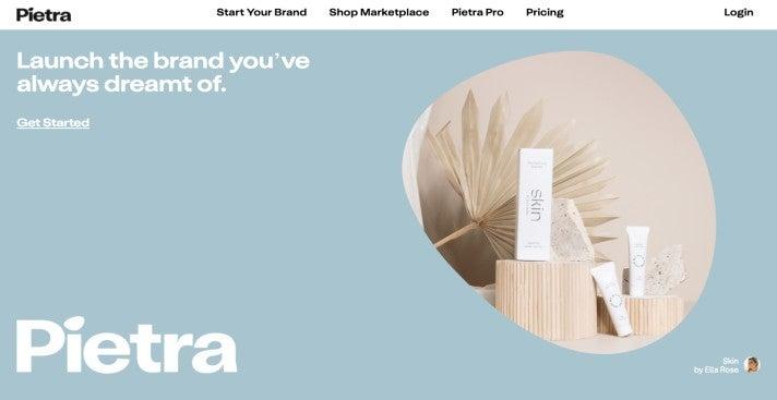 Pietra Webseite