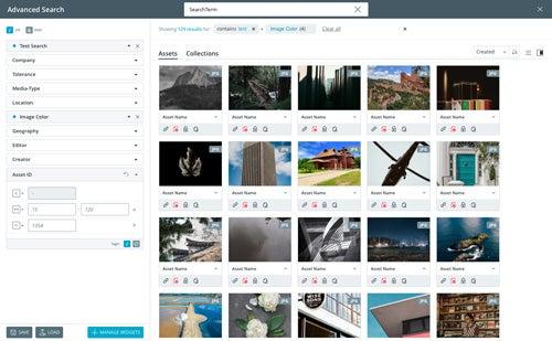 CELUM ContentHub Screenshot