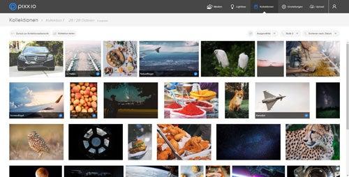pixx.io Screenshot