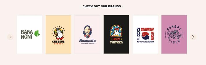 Die Ghost-Kitchen-Marken von Honest Food