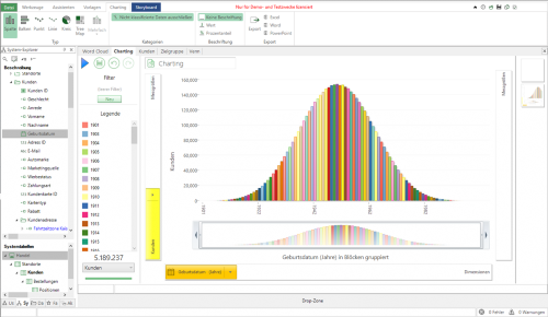 Apteco Marketing Suite Screenshot
