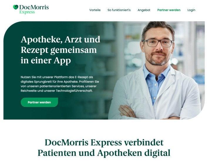 Auch der Mitbewerber Doc Morris bemüht sich derzeit um lokale Apotheken als Partner.