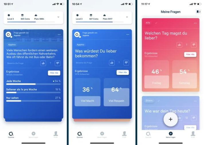 Appinio-App Screenshot