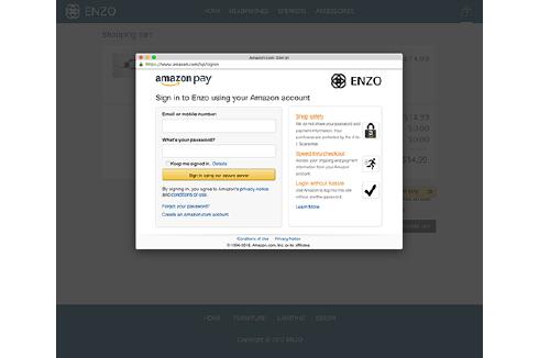 Amazon Pay Screenshot